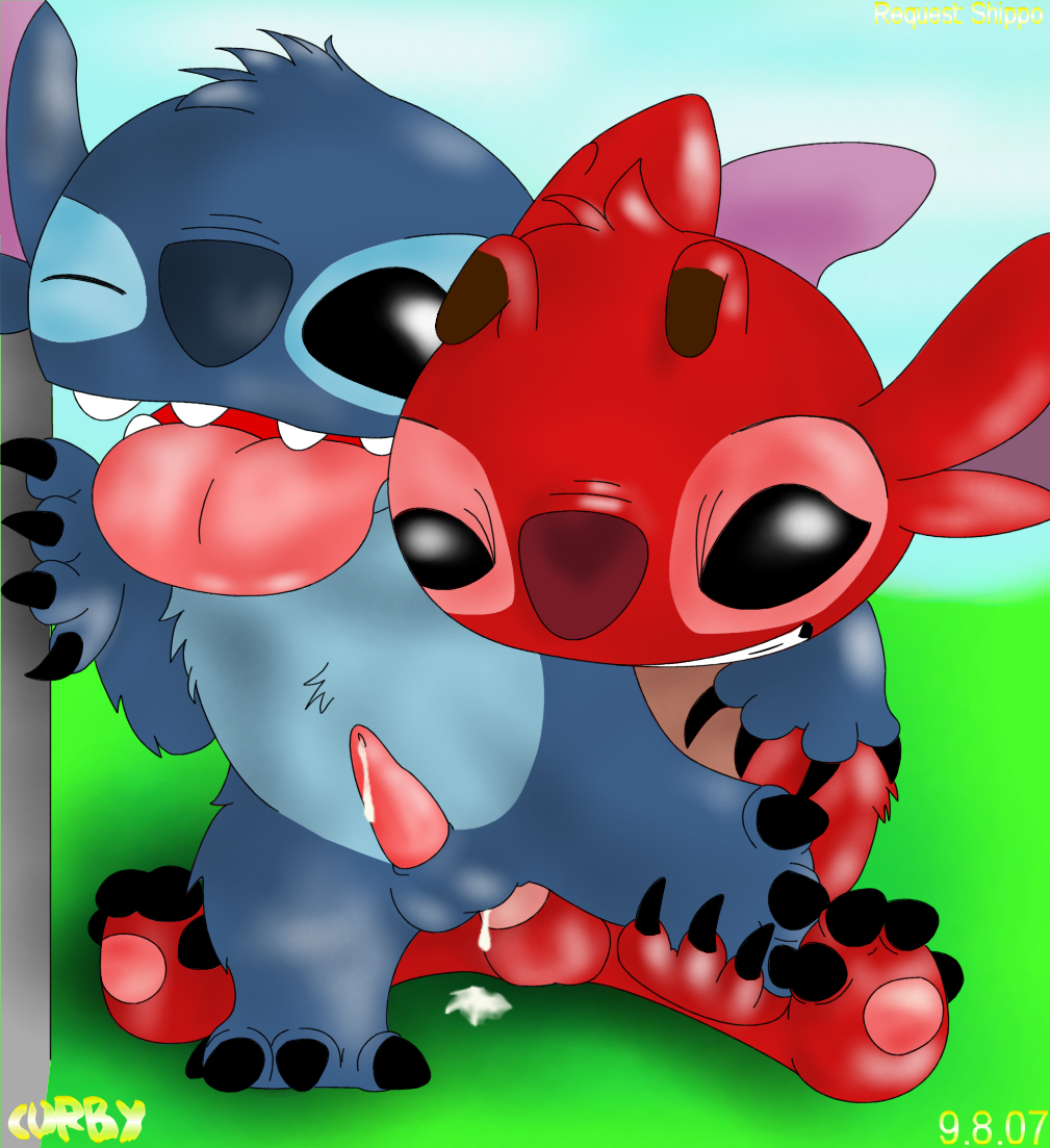and experiments stitch all in lilo Five nights at anime springtrap