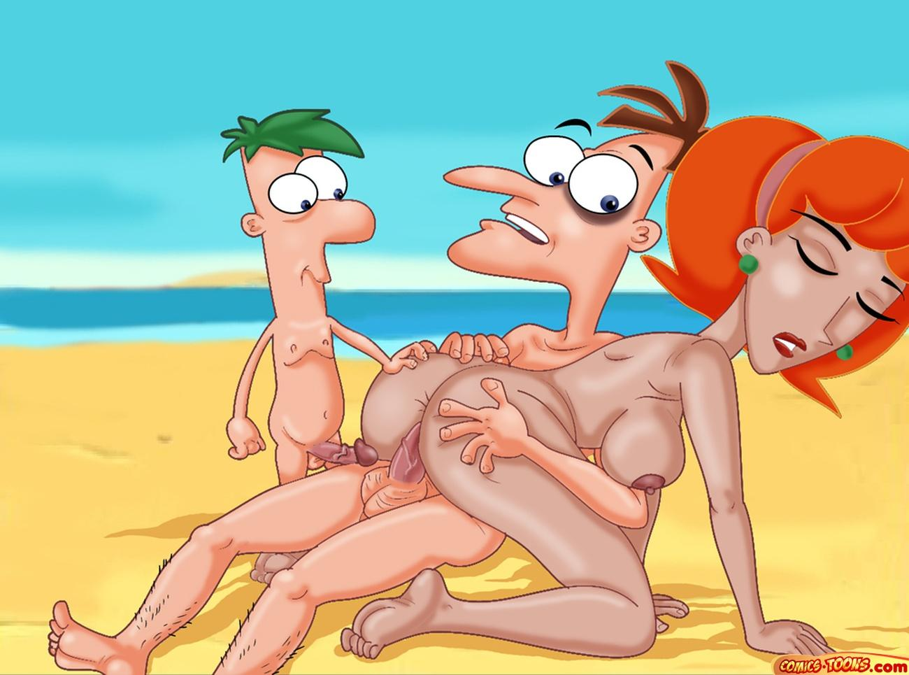 xxx and ferb comic phineas Porn pics of ben 10