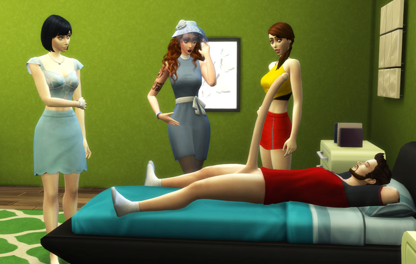 sims nude the clothes 4 Class of the titans archie